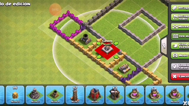 Base de clash of clans anti aereo