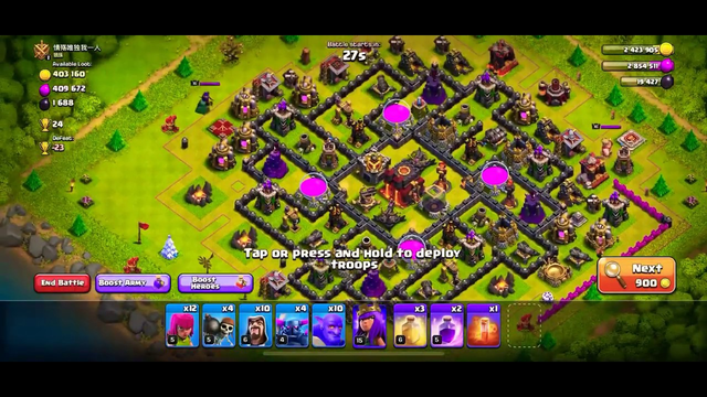 This is why I HATE Clash if Clans! IM NEVER USING PECKAS AGAIN!