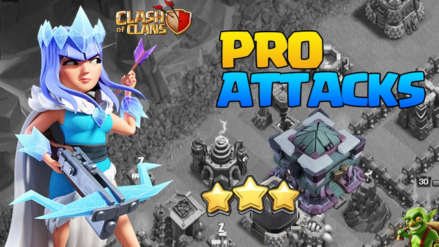 THIS IS AMAZING! Pro Yeti Blimp Attacks! TH13 Pro Attack Strategy! Best TH13 Attack Strategies COC