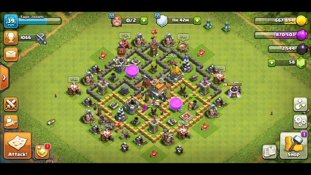 Clash of Clans lets play 1