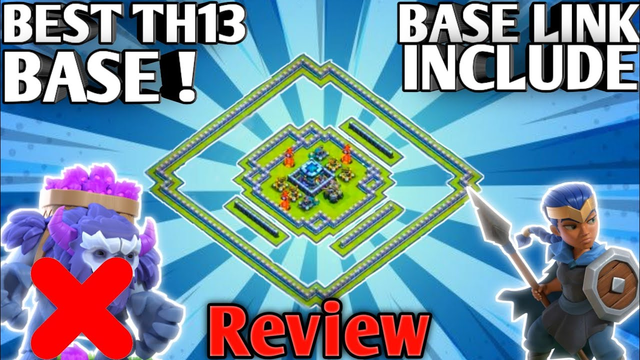 *ANTI YETI*Town Hall 13 Base Review - With TH13 BASE LINK & REPLAYS - Clash of Clans -Gaming Esports
