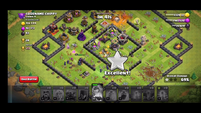 WITCH SLAP- BEST TH9 WAR STRATEGY FOR 3 STAR IN CLASH OF CLANS