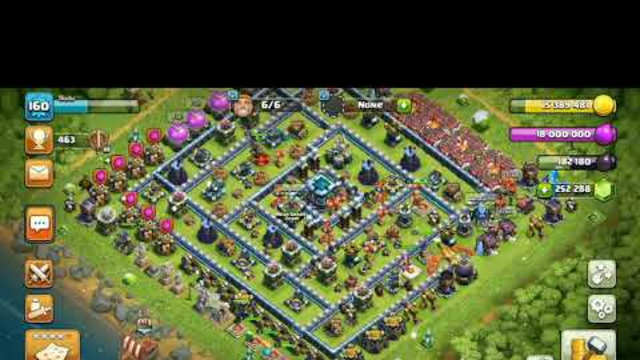 Clash Of Magic/Th13 VS 295 Sparky/Clash Of Clans