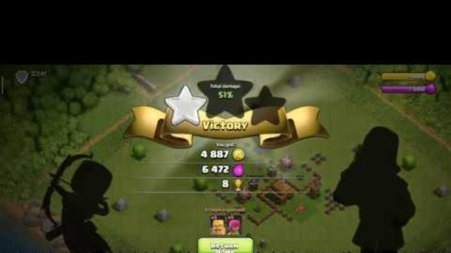 Clash of Clans Townhall 2 Video 4