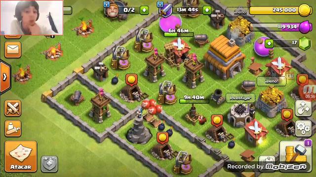 Clash of clans ep2 EL RAYO ES LO MEJOR (this is gamer)