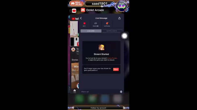 Watch me play Clash of Clans via Omlet Arcade!
