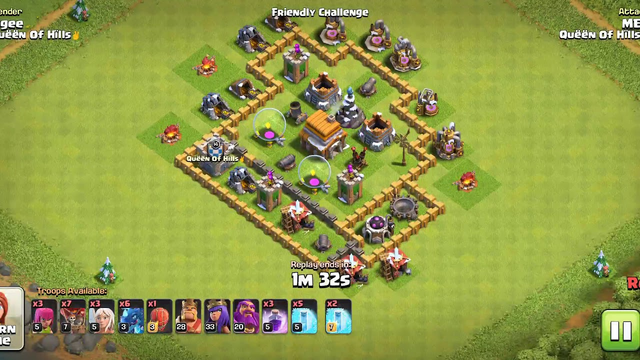 Clash of Clans attack 100% with 1 EDR