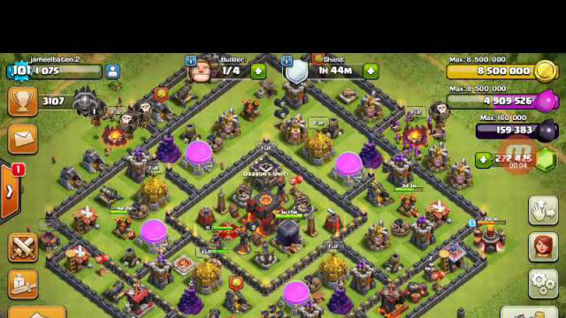LOOT SPENDING MONTAGE # 2 wierd moments (clash of clans)