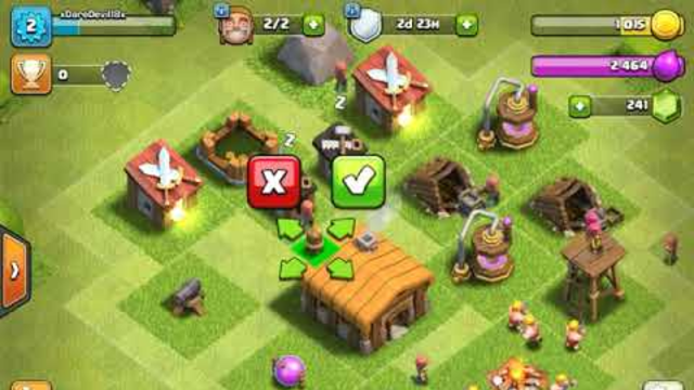 Clash of Clans Introduction - Town Halls 1 and 2