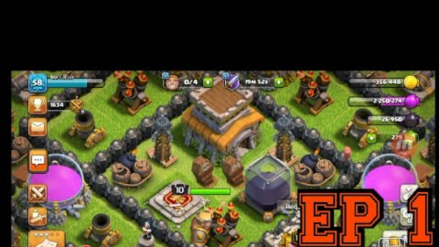 Ep1|Th8 Let's Play|Clash of Clans