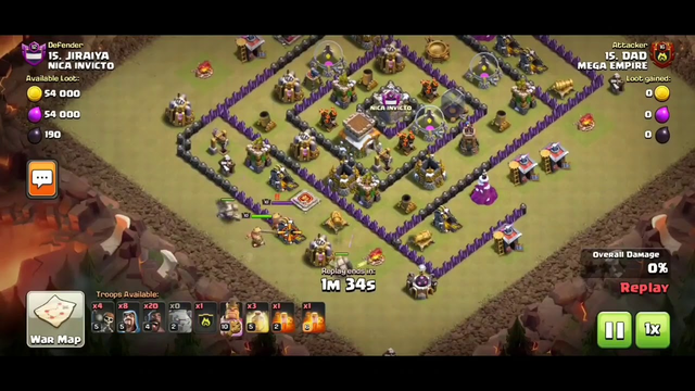 Th8 GoHo: Th8 GoHo War Attack 2020 | Clash of Clans - CoC
