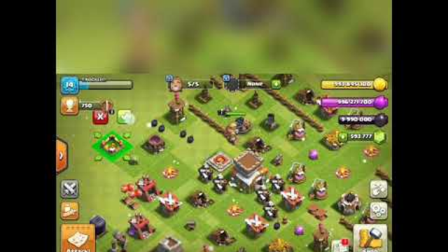 Clash Of Clans - TH1 -- TH13