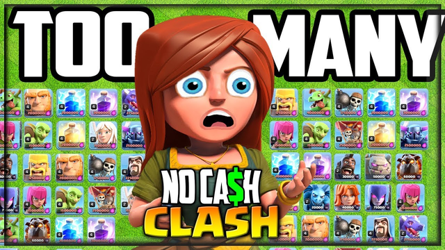 This is CRAZY! No Cash Clash of Clans #46