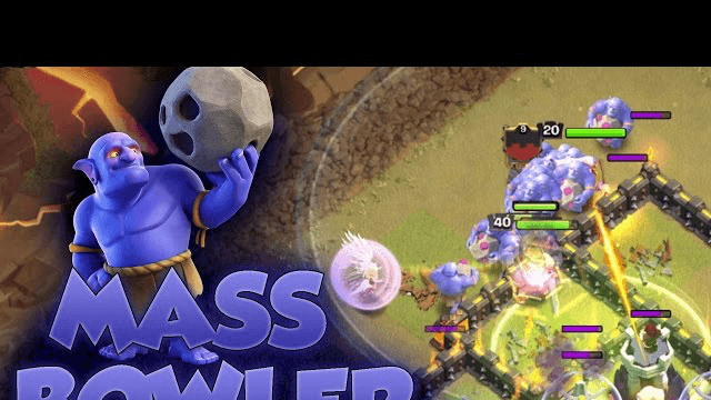 Clash of Clans - Mass Bowler 3 Star Attack Strategy | Mass Bowler Strategy |