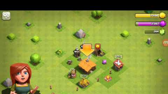 Starting a new game from th 1 to th 2 in clash of clans