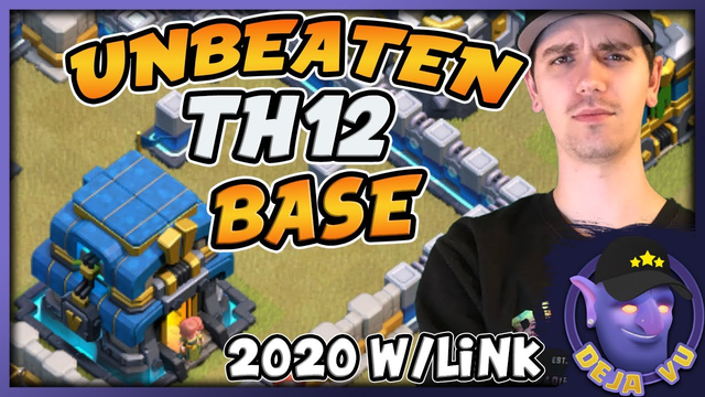 TH12 war base 2020 with link | New custom Town hall 12 base | 1 star defenses! | Clash of Clans