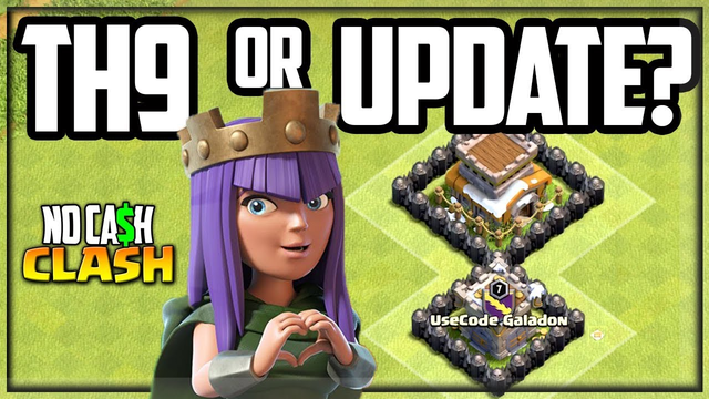 Town Hall 9 or UPDATE First? No Cash Clash of Clans #47