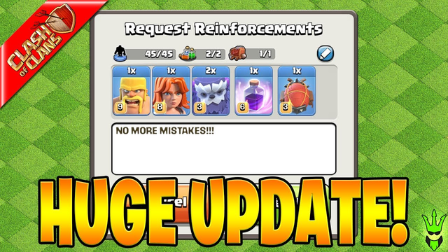 NO MORE CLAN DONATION MISTAKES!! - Clash of Clans