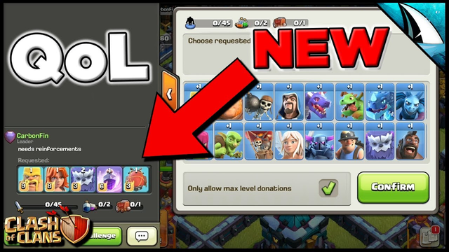 Best Sneak Peek! Finally bringing this to the game! Quality of Life | Clash of Clans