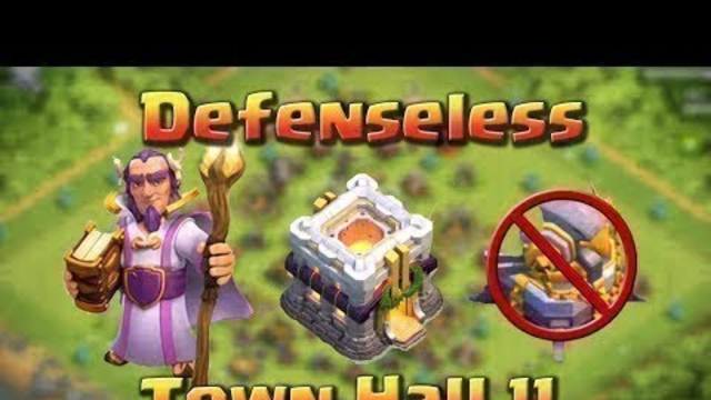 Clash of Clans | Defenseless Base Town Hall 11