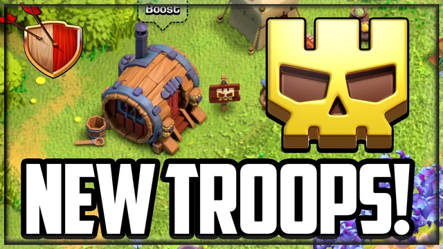 NEW TROOPS! Clash of Clans Update - SUPER Troops!
