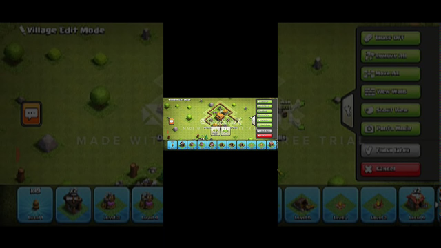 Clash Of Clans Best TownHall 3 Layout (Design1)