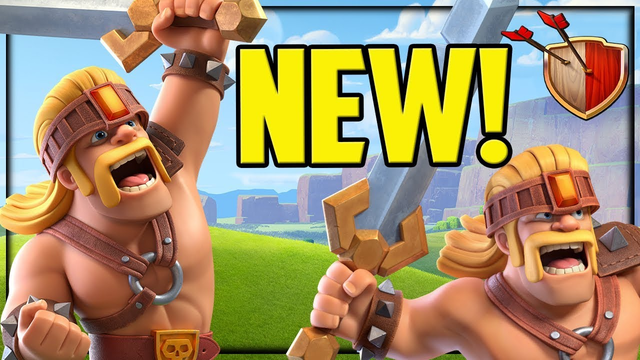 NEW Troop - Clash of Clans Update - SUPER Barbarians!