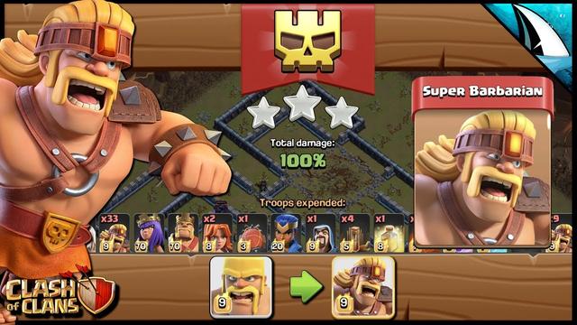 NEW Troop! Super Barbarian! Sneak Peek | Clash of Clans