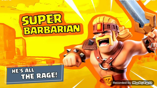SUPER BARBARIAN NEW TROOPS GAMEPLAY REVEALED IN CLASH OF CLANS.
