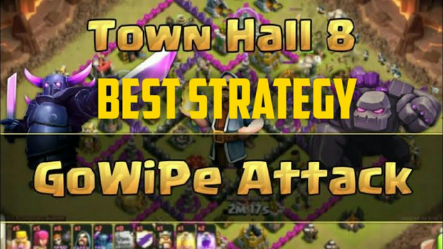 BEST TH8 ATTACK STRATEGY /BEST PEKKA STRATEGY IN COC..