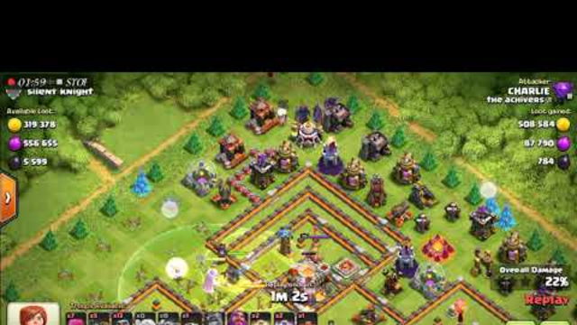 #COC #clashofclans How to do a good attack with weak army #coc
