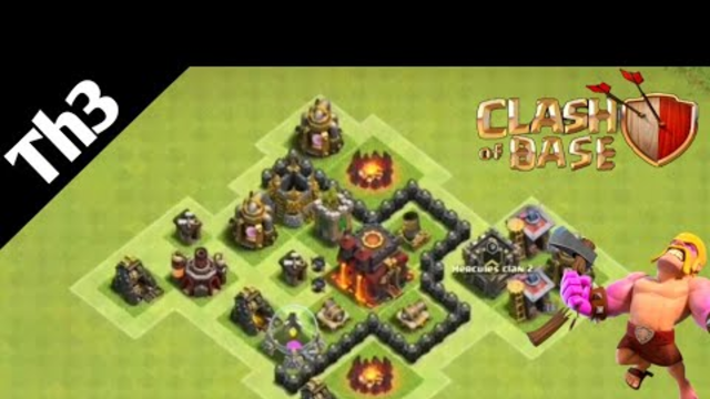 Clash Of Clans Best Town Hall 3 [TH3] Base