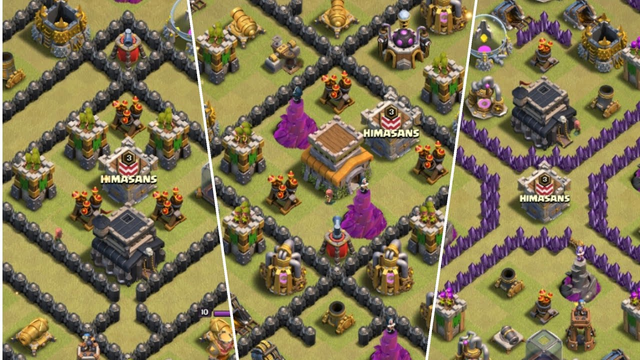 Impossible drag attack on Th8 & TH9 in war | clash of clans |