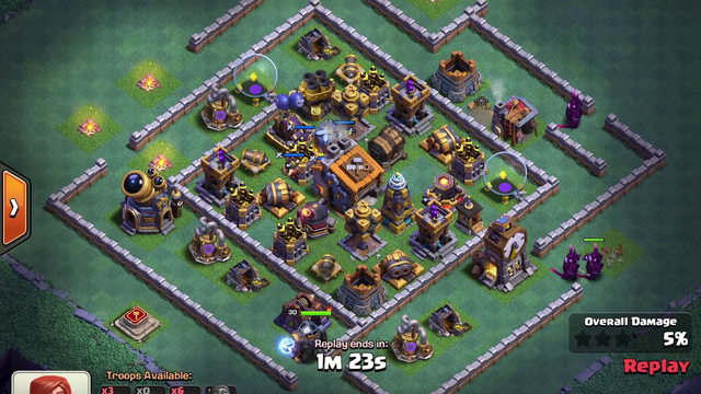 BH9 - Attack Strategy - 3x Pekka, 2x Hogs, Carts - Clash of Clans - Builder Base