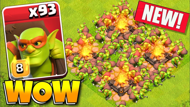 """SNEAKY GOBLINS x93 """"Clash Of Clans"""""""