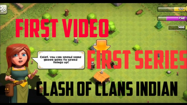 First video with series th 1 Clash Of Clans indian