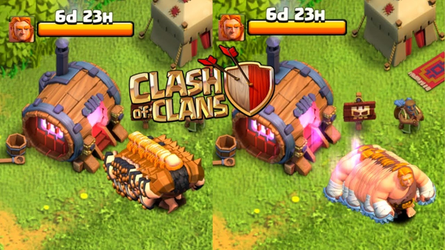 New Gaints In Clash of Clans...........