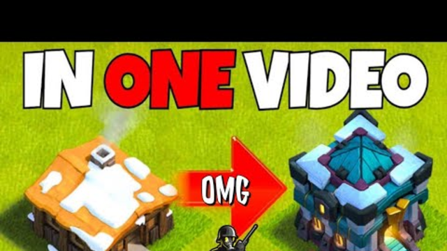 Reaching TH 1 to 13 Max village in 20 minutes | clash of clans | Daxter gaming