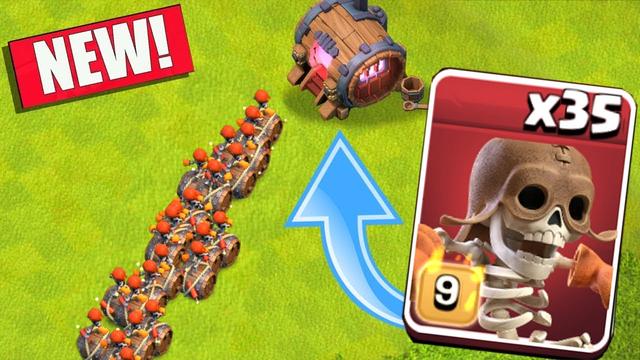 "New Super Wall Breaker!! ""Clash Of Clans"""