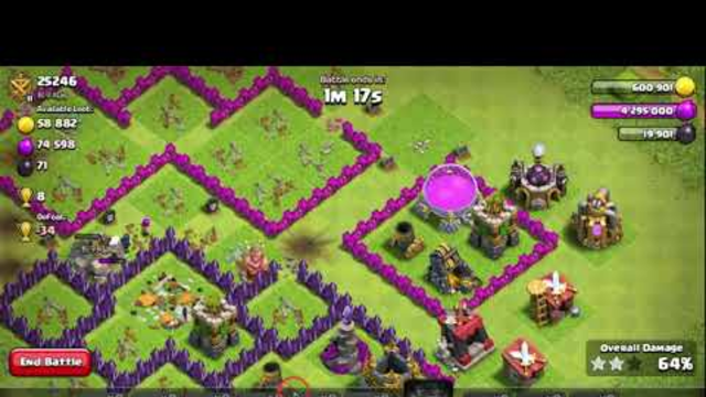 COC GAME PLAY TH8