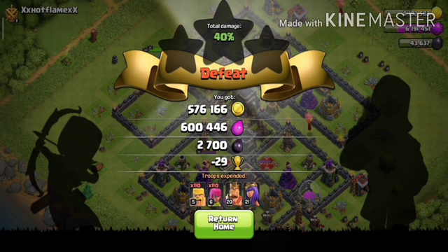 Way to th10 #2........ Coc...... Last wall