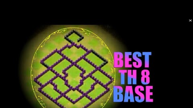 BEST TOWNHALL 8 BASE|CLASH OF CLANS BY Sacchi Gaming
