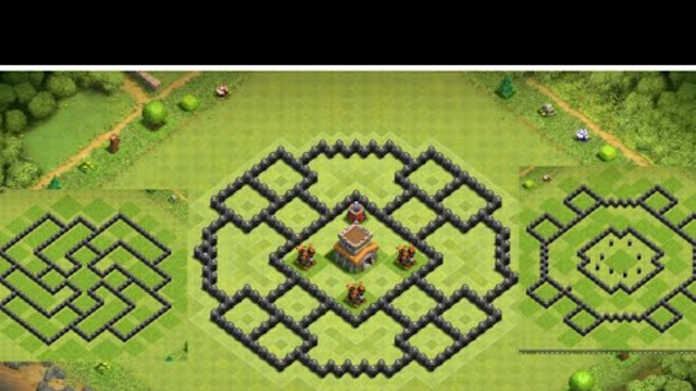 Townhall 8 Base layout with link | Clash of clans | Top 3 Th8 bases with link
