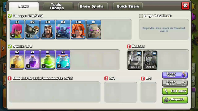 Clash of Clans base th 10