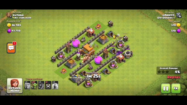 Clash of Clans Townhall 4 upgrade Video 25