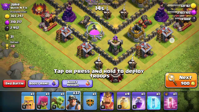 Th10 Vs th10 Only miner challenge in clash of clans||gaming kingdom