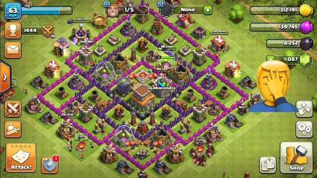 Buying 4000 gems in clash of clans! Town hall 8 lets play!