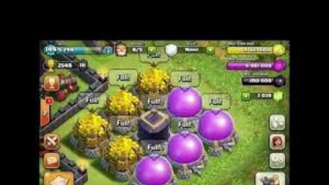 I AM SO RICH IN CLASH OF CLANS (* _*) ROAD TO TH8 MAX