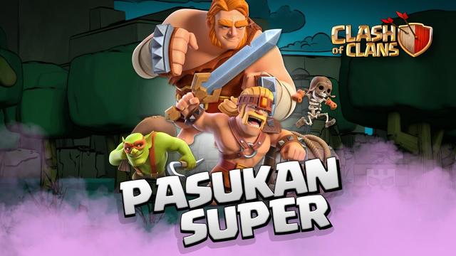 Pasukan Super Tiba! Pembaruan Musim Semi 2020 Clash of Clans