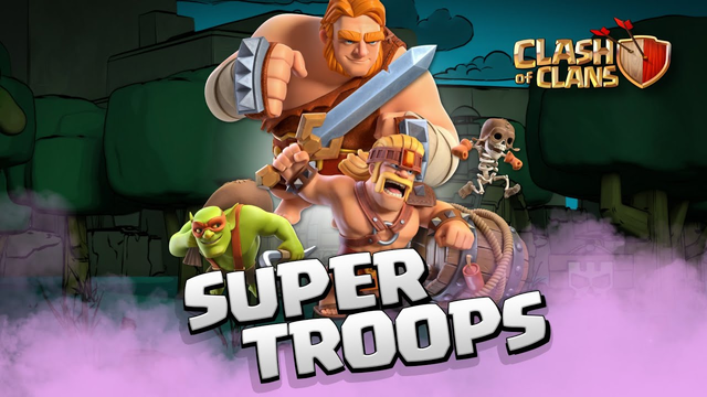 The SUPER TROOPS Are Here! Clash of Clans NEW Spring Update 2020